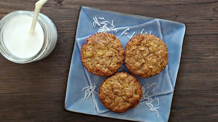 coconut pineapple muffin @Berryhappybod #fitfluential