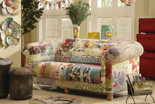 Kelly Rae Roberts sofa by Creative-Co-op.  Can I haz, please? :)