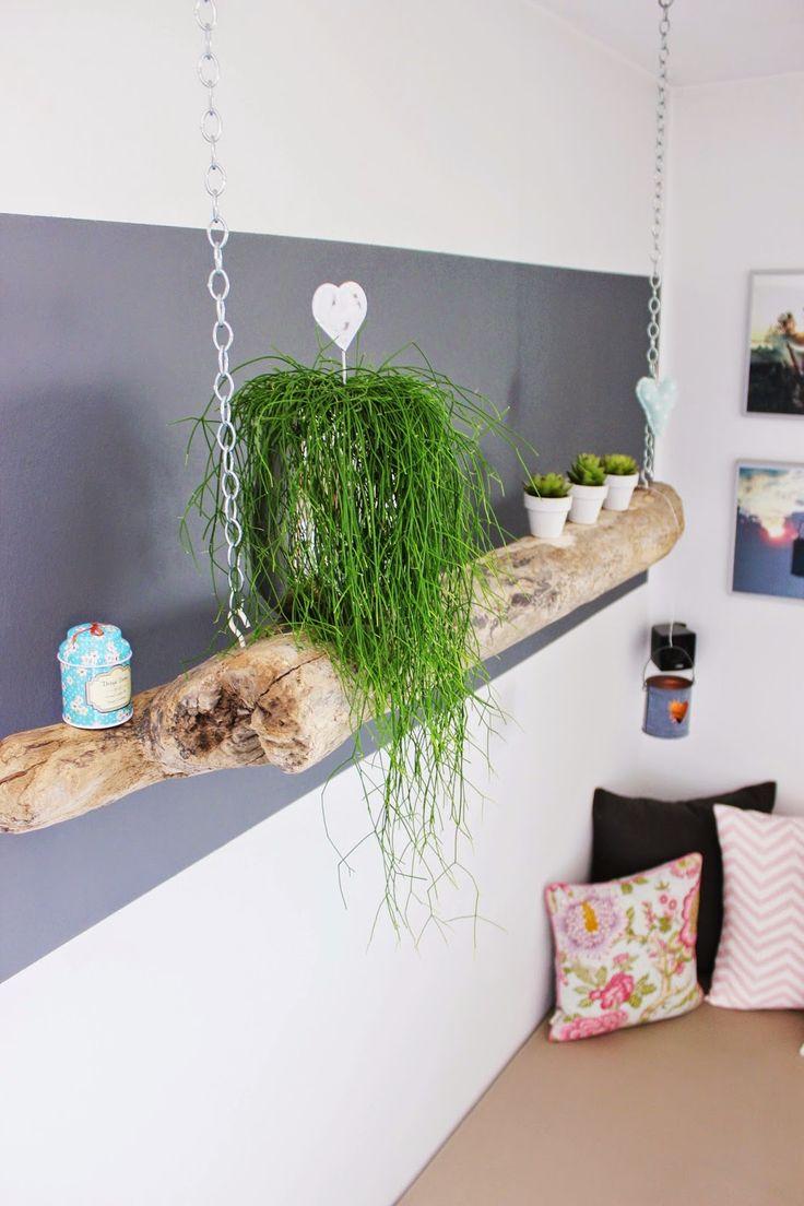 schwemmholz h ngeregal s 39 bastelkistle pinterest. Black Bedroom Furniture Sets. Home Design Ideas