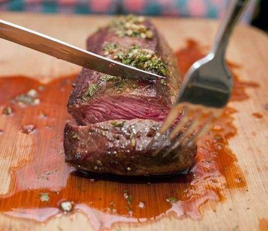 Mmmmmmm. mediterranean tri tip steak | DEELISH | Pinterest