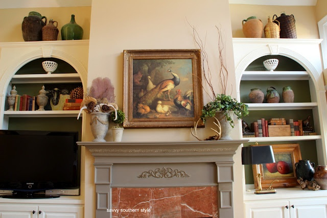 Mantle display for the home pinterest for Mantel display ideas
