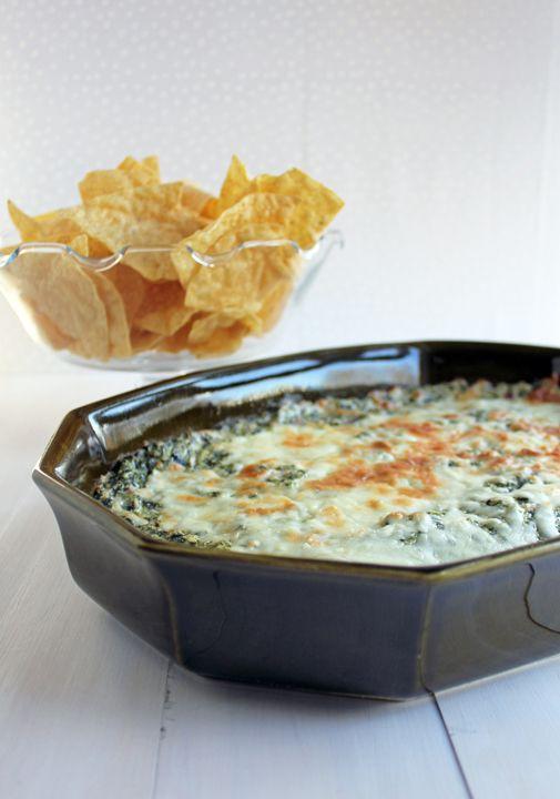 Hot Spinach Dip Recipe — Dishmaps