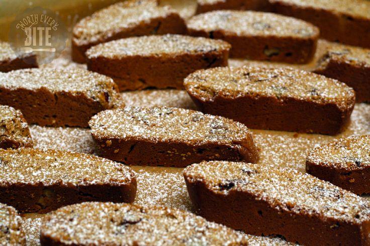 Candied Pecan Biscotti Recipe | biscotti | Pinterest