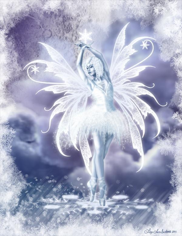 Winter fairy - #wings #fairies | Wings! Wings! Wings ...