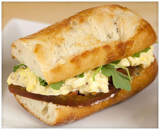 Tarragon Egg Salad Sandwiches with Homemade Lemon-Chive Mayo by ...