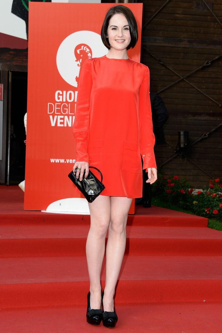 Michelle Dockery wears Miu Miu @ 2013 Mostra Internazionale d'Arte Cinematografica di Venezia