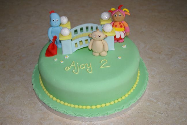 B Day Cake Decoration : night garden B-day cake decorations Pinterest