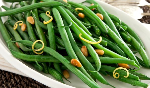 ... humble side of beans into a menu star...Sautéed French Green Beans