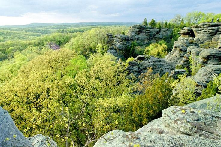 Shawnee National Forest Illinois From Sea To Shining Sea Pinterest