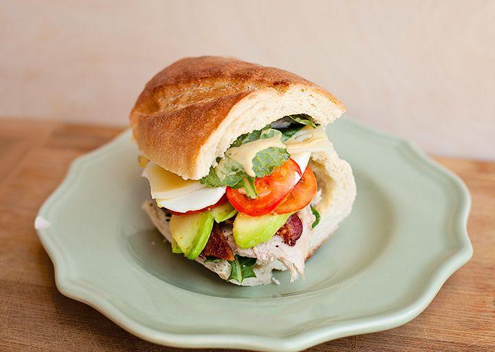 Turkey Cobb Salad Sandwich! | Food & Health | Pinterest