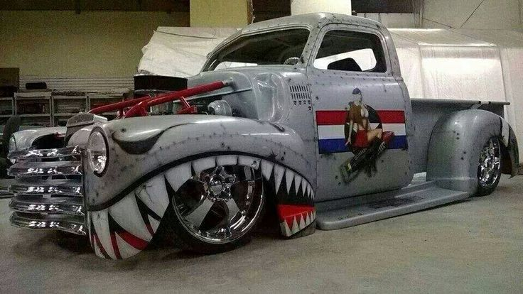 Cool Hot Rod Paint Jobs Pictures To Pin On Pinterest