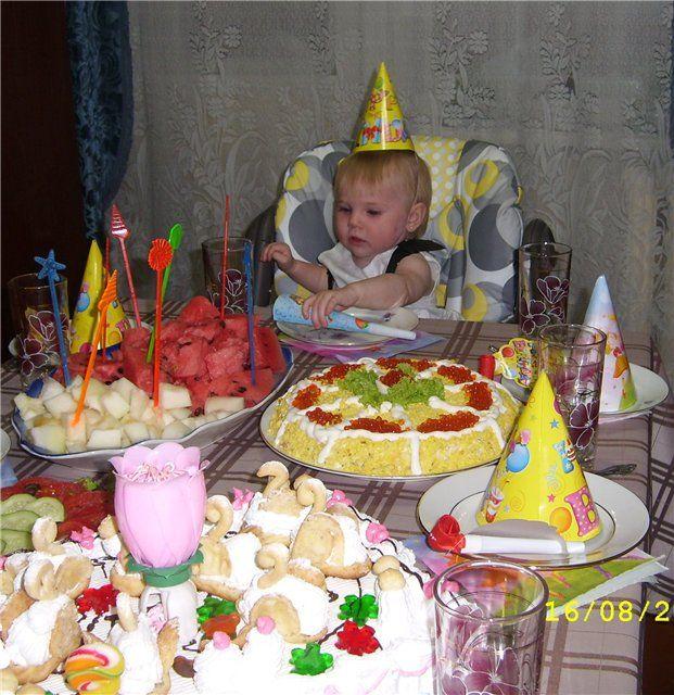 Красивые салаты рецепты с фото для дня рождения