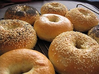 Oh how I miss REAL bagels from New York!!!
