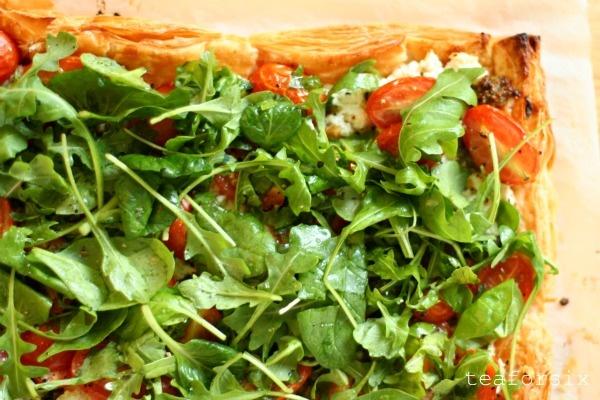 Ricotta and tomato tart | Food | Pinterest