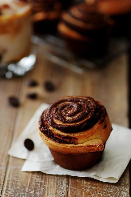 Chocolate Swirl Buns   feast   Pinterest