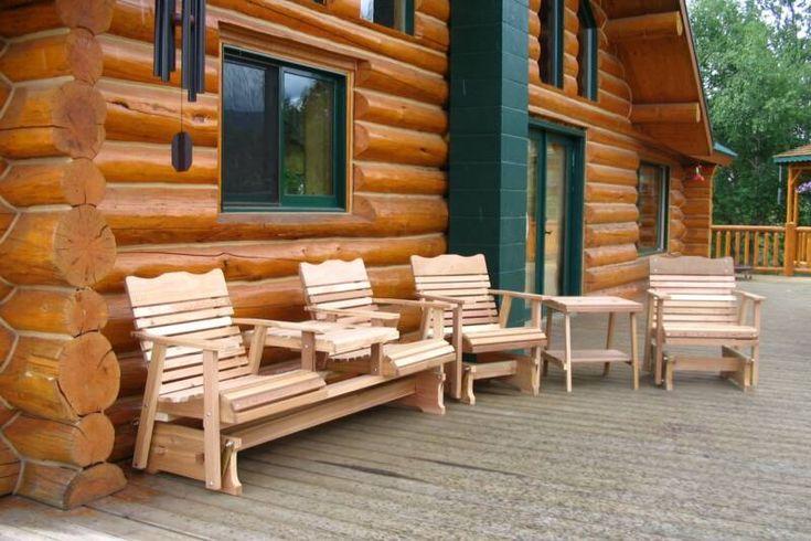 Outdoor Furniture Cedar Wood