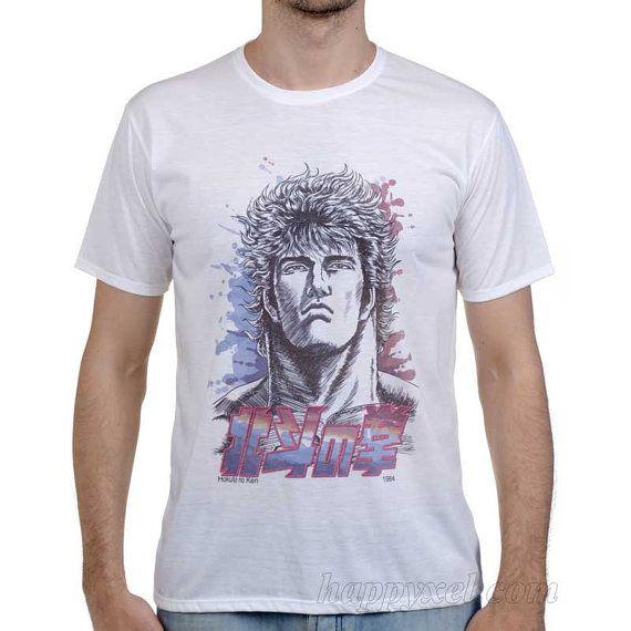 T-shirt Fist Of The North Star, Hokuto No Ken