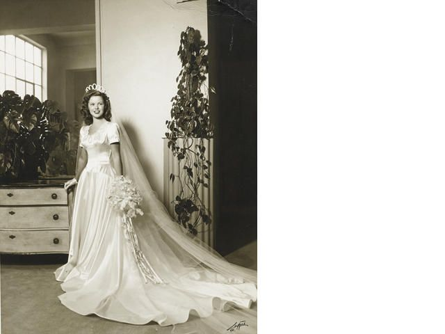 A Shirley Temple Wedding Photograph Things I Love