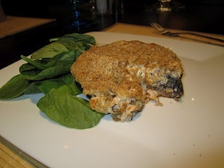 Creamy Stuffed Portabella Mushrooms | Savoury [recipes] | Pinterest