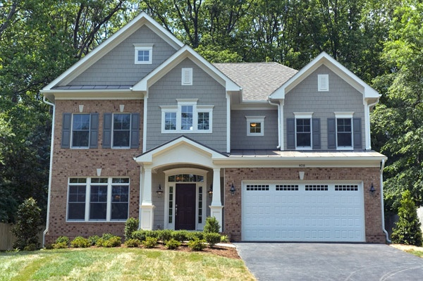 Pin by sekas homes on elegant exteriors pinterest for Custom brick homes