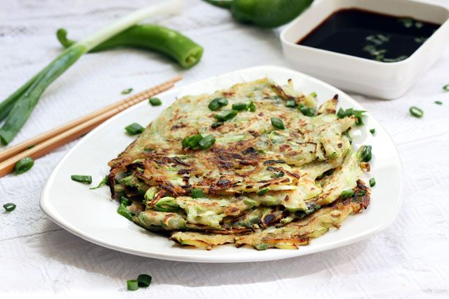 Zucchini Pancakes (Hobakjeon) | Recipe