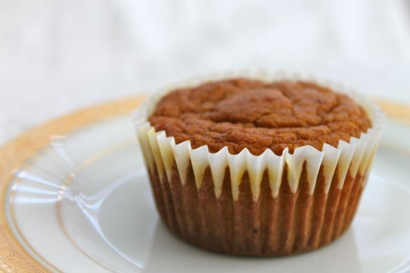 Whole Wheat Pumpkin Muffin | Healthy food | Pinterest