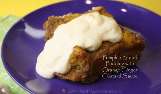 pudding with vanilla custard sauce bread pudding recipe two bread and ...
