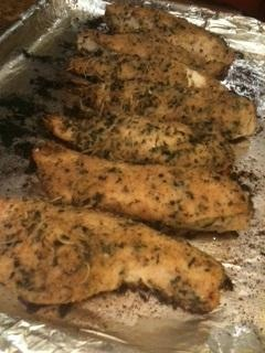 Baked Herb-Crusted Chicken Breasts from Food.com: I found this in Bon ...