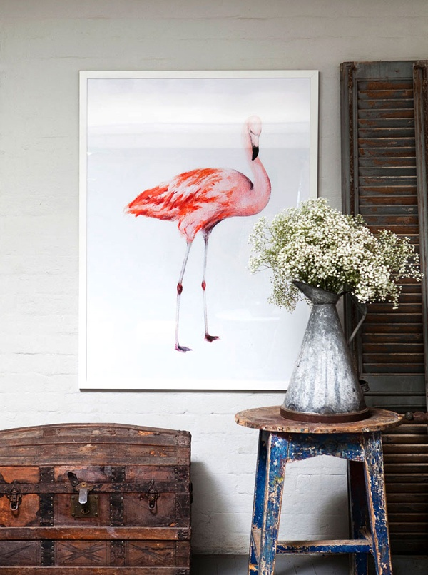 Patchwork Harmony blog: Flamingo love