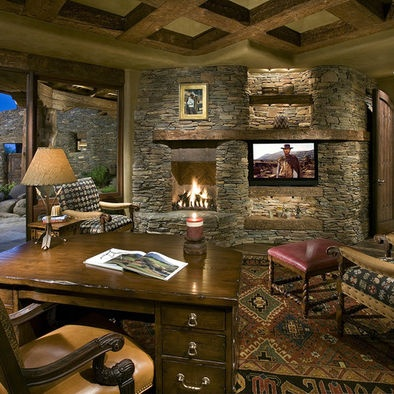 Unique Decorating Ideas Images In Home Office Rustic Design Ideas With Home