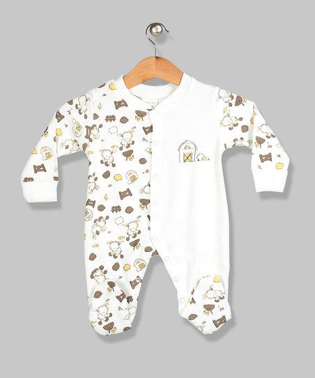 Ecru Horse & Stable Sleepsuit | Baby #2 | Pinterest