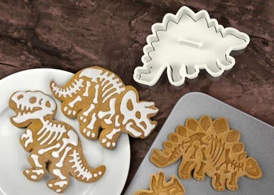... & Friends DIGINS Cookie Cutters Dinosaur Fossil Stamps T-Rex Bon
