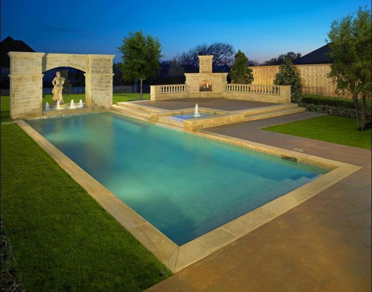 Here Is The 40 Ft Pool A Roman Holiday Swimming Pool Pinterest