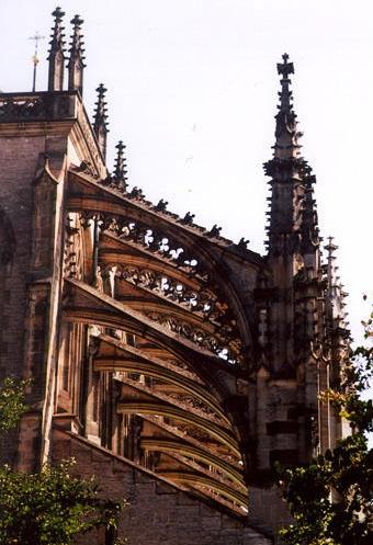 Gothic Flying Buttresses Gothic Pinterest