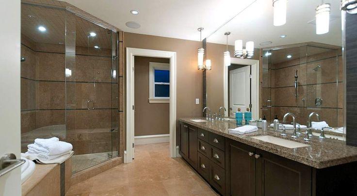 Highend Master Bathrooms High End Interior Design Timeless Masculine