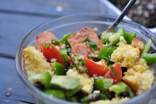 Jiffy Corn Bread Salad   Favorite Recipes   Pinterest
