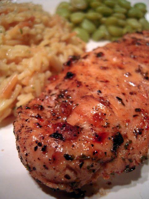 Grilled Greek Chicken | Plain Chicken | Bock! Bock! Chicken & Turkey ...