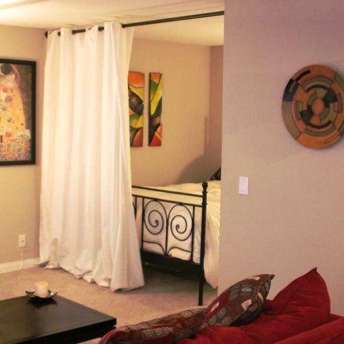 Curtain Room Divider Dreamy Craft Room Ideas Pinterest