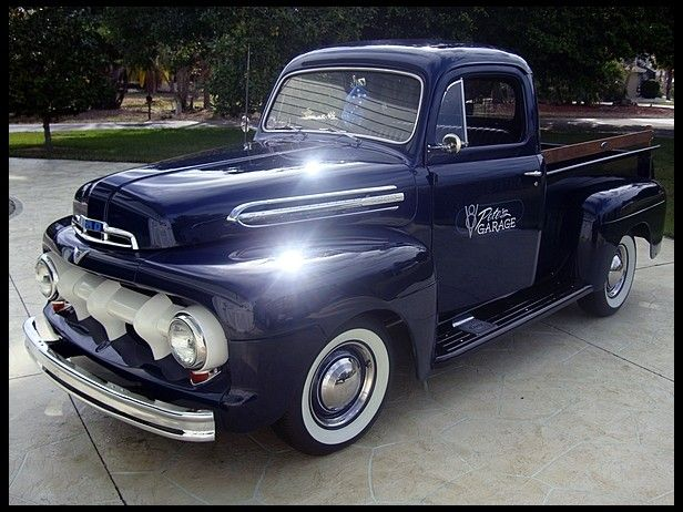 1951 ford f1 pickup childhood memories pinterest. Black Bedroom Furniture Sets. Home Design Ideas