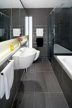 Pin by heleni on bathroom ideas pinterest for Charcoal bathroom designs