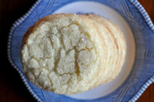 Key lime coconut sugar cookies. Substitute for Flori di Sicilia: Fiori ...