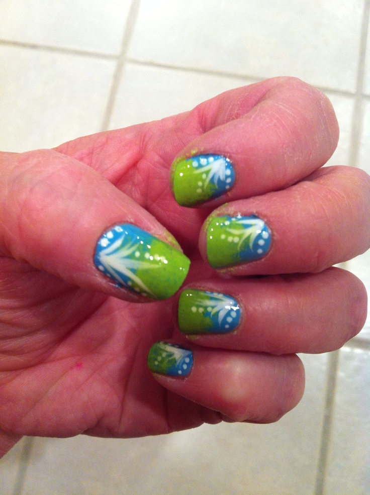 My original nail design! | nails & toes | Pinterest