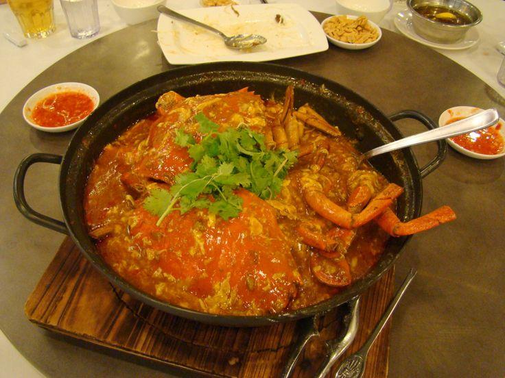 Famous Singapore Chili Crab, Singapore. | My Travels | Pinterest