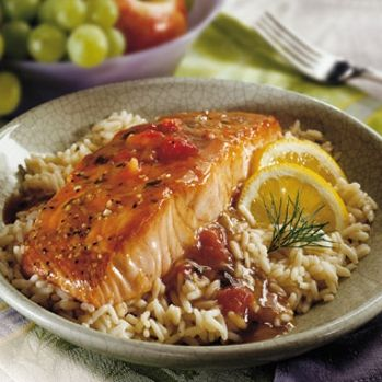 Balsamic Glazed Salmon | He killed it, I grilled it. | Pinterest