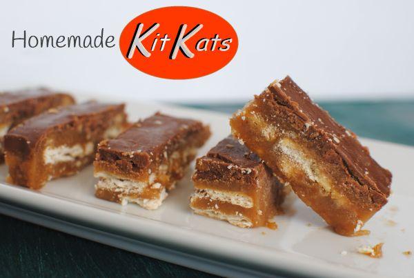 Homemade KIT KATS! | Yummy for the Tummy | Pinterest