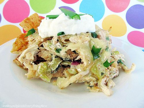 Chicken Tortilla Chip Casserole. So many recipes , so little time. May ...