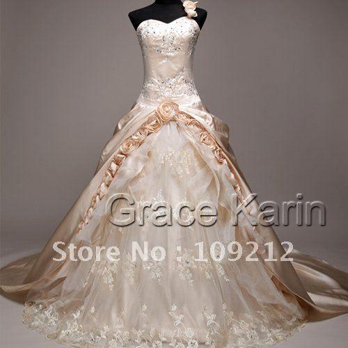 Plus size champagne wedding dresses dress manufacturers for Plus size champagne wedding dresses