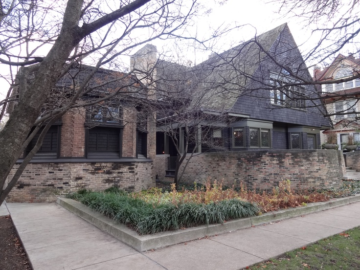 frank lloyd wright 39 s home and studio in oak park chicago illinois
