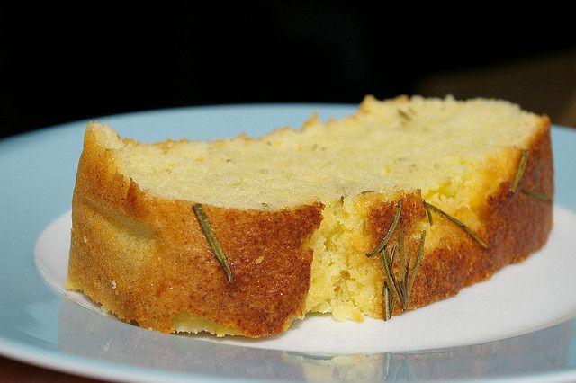 Lemon Rosemary Olive Oil Cake   Cakes   Pinterest