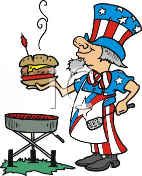 4th of july bbq clipart